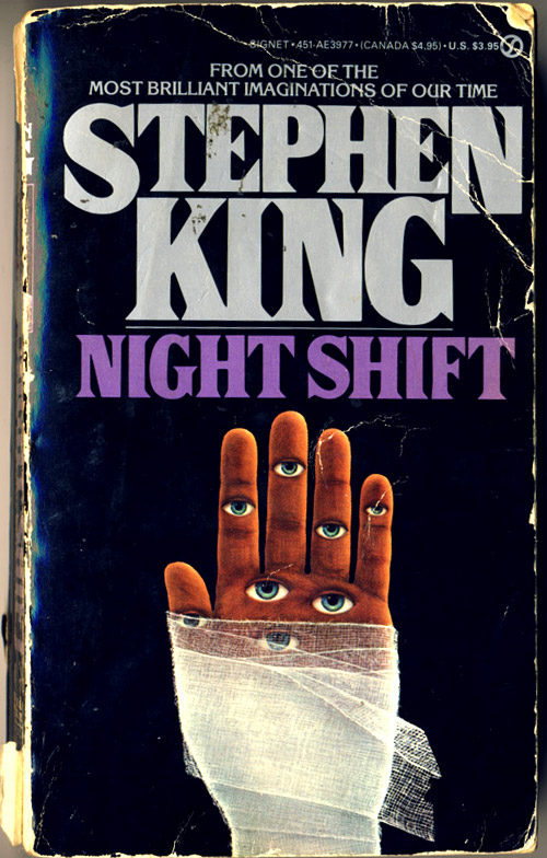 Stephen King Night Shift book cover