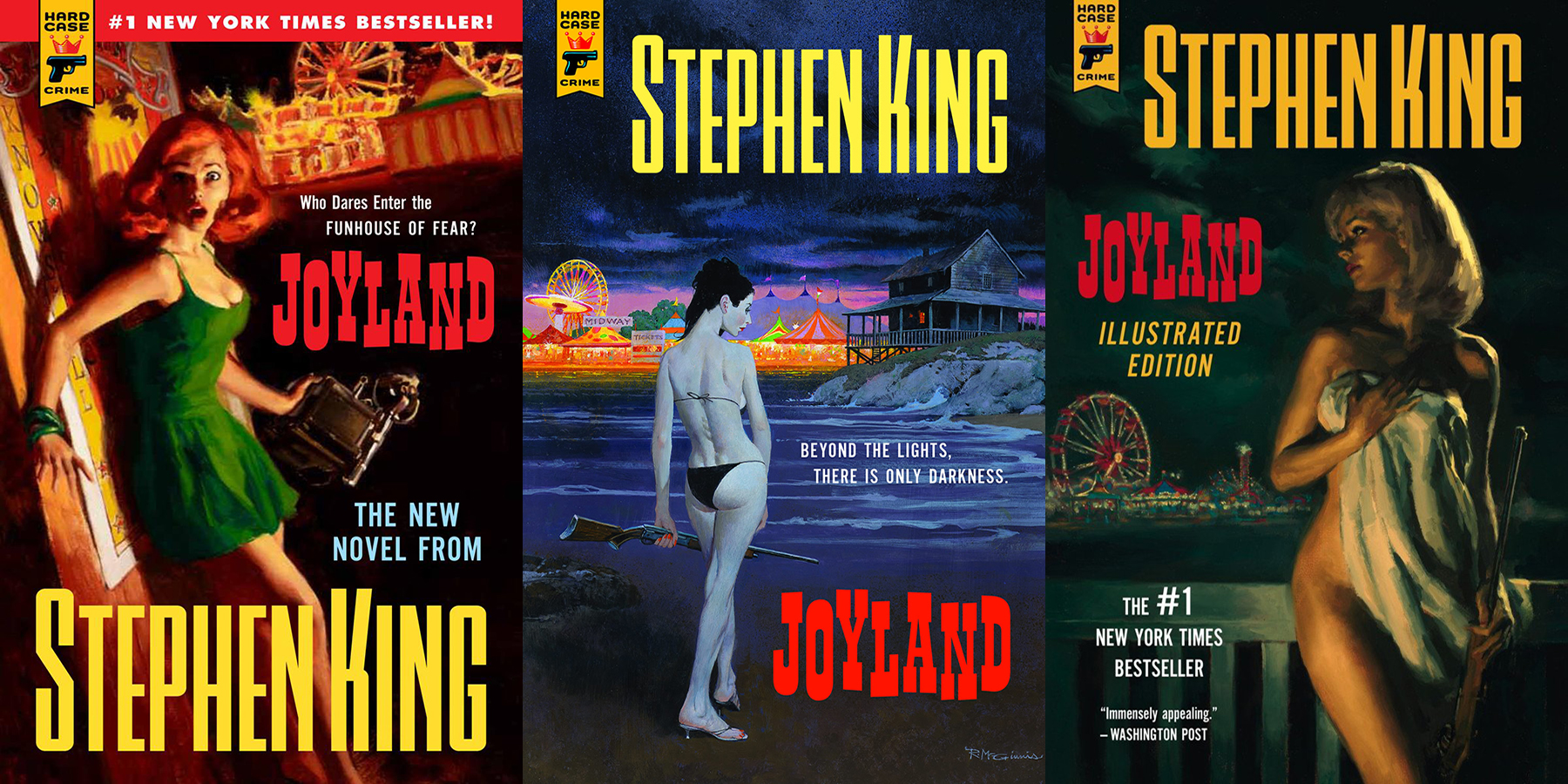 Stephen King Book Cover Art ~ Favorite book covers joyland johnnycompton